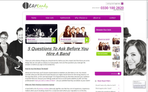 earcandy - live bands for hire